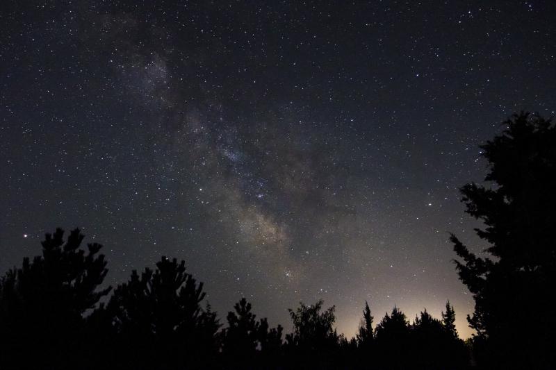 Milky Way 2. April 2018